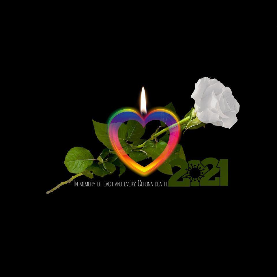 Zum Gedenken an alle Corona Verstorbenen